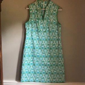 Kenzie preppy green aqua dress